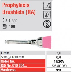Prophylaxis Brushlets (RA) - soft - 1472RA