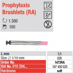 Prophylaxis Brushlets (RA) - soft - 1473RA
