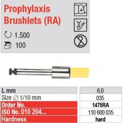 Prophylaxis Brushlets (RA) - hard - 1475RA