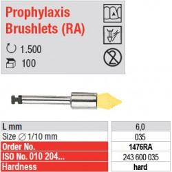 Prophylaxis Brushlets (RA) - hard - 1476RA