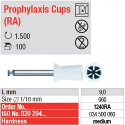 Prophylaxis Cups (RA) - 1240RA
