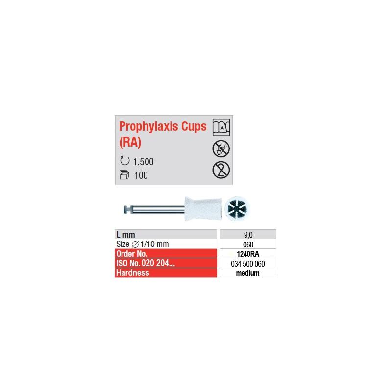 Prophylaxis Cups (RA) - 1240RA