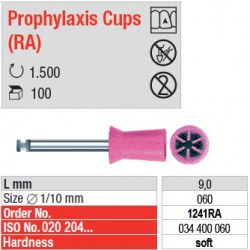 Prophylaxis Cups (RA) - 1241RA
