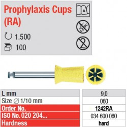 Prophylaxis Cups (RA) - 1242RA