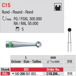C1S - Fraise carbure de tungstène - C1S.205.018