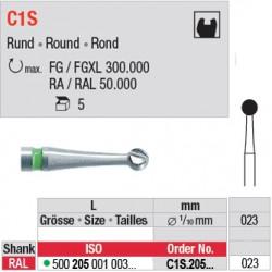 C1S - Fraise carbure de tungstène - C1S.205.023