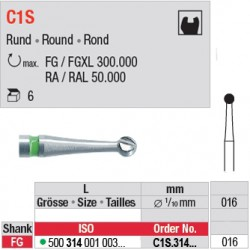 C1S - Fraise carbure de tungstène - C1S.314.016