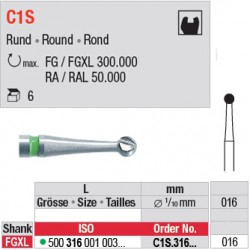 C1S - Fraise carbure de tungstène - C1S.316.016