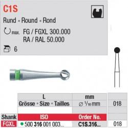 C1S - Fraise carbure de tungstène - C1S.316.018