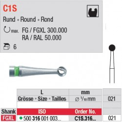 C1S - Fraise carbure de tungstène - C1S.316.021