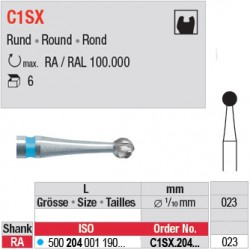 C1SX - Fraise carbure de tungstène - C1SX.204.023