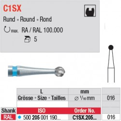C1SX - Fraise carbure de tungstène - C1SX.205.016