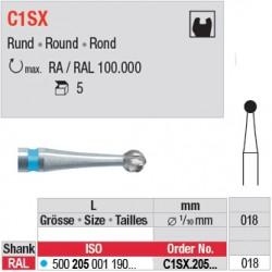 C1SX - Fraise carbure de tungstène - C1SX.205.018