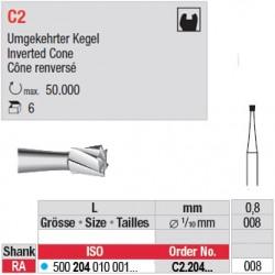 C2 - Fraise carbure de tungstène - C2.204.008