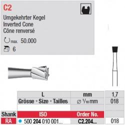 C2 - Fraise carbure de tungstène - C2.204.018