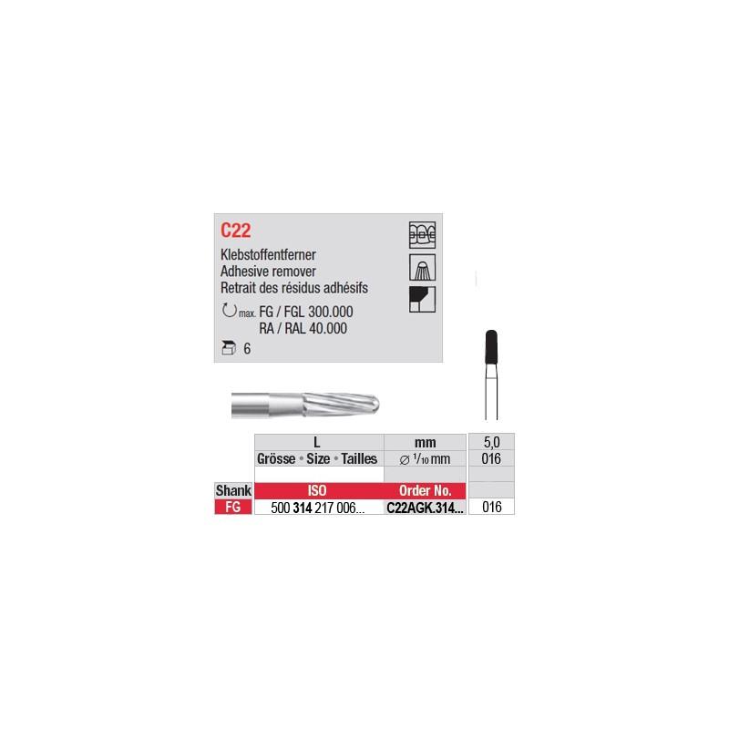 C22 - Retrait des résidus adhésifs - C22AGK.314.016