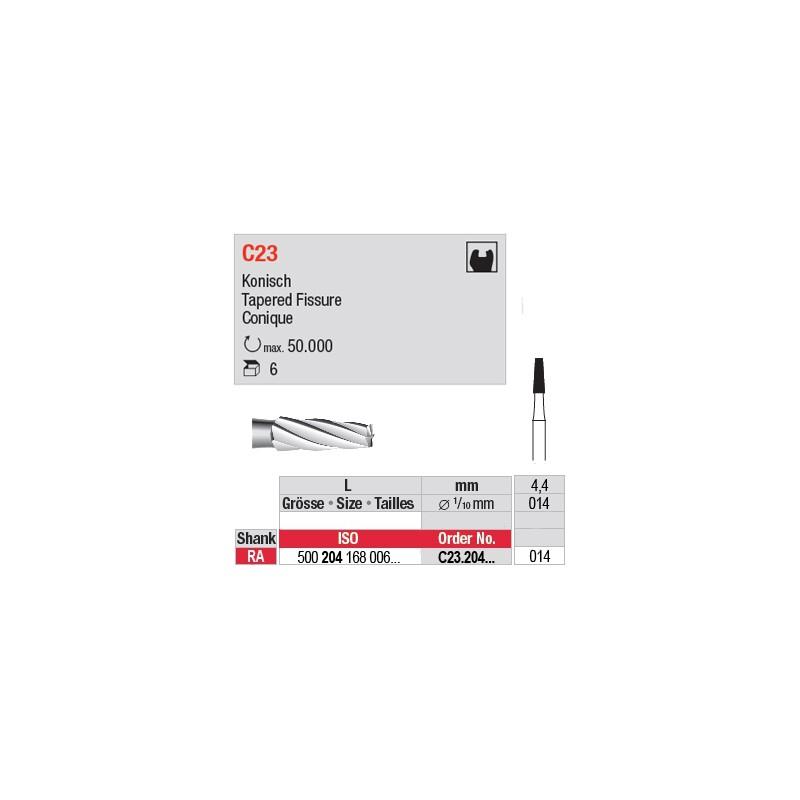 C23 - Fraise carbure de tungstène - C23.204.014