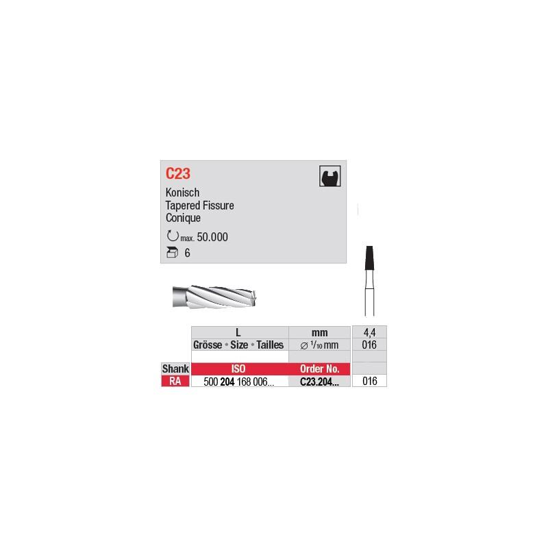 C23 - Fraise carbure de tungstène - C23.204.016