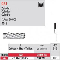 C31 - Fraise carbure de tungstène - C31.204.010