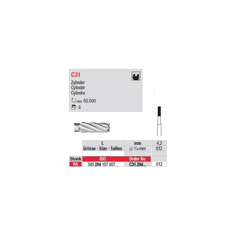 C31 - Fraise carbure de tungstène - C31.204.012