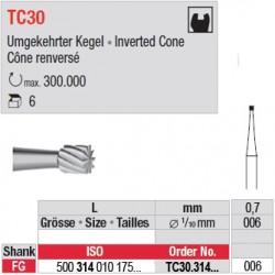 Fraises à finir en C.T. - TC30.314.006