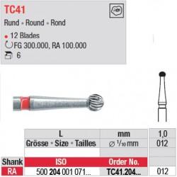 Fraises à finir en C.T. - TC41.204.012