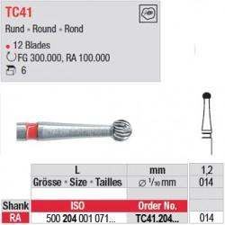 Fraises à finir en C.T. - TC41.204.014