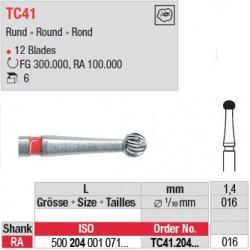 Fraises à finir en C.T. - TC41.204.016