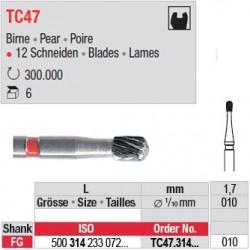 Fraises à finir en C.T. - TC47.314.010