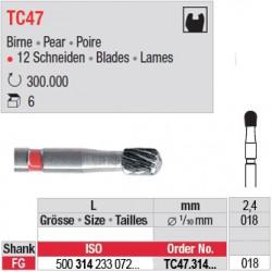 Fraises à finir en C.T. - TC47.314.018