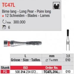 Fraises à finir en C.T. - TC47L.314.010
