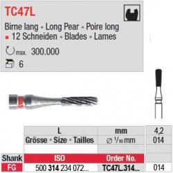 Fraises à finir en C.T. - TC47L.314.014