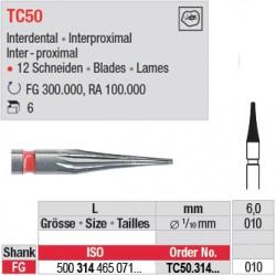 Fraises à finir en C.T. - TC50.314.010