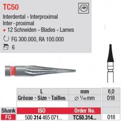 Fraises à finir en C.T. - TC50.314.018