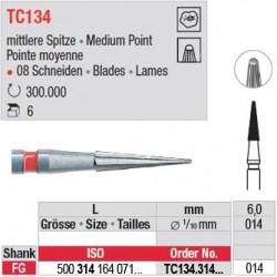 Fraises à finir en C.T. - TC134.314.014