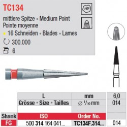 Fraises à finir en C.T. - TC134F.314.014