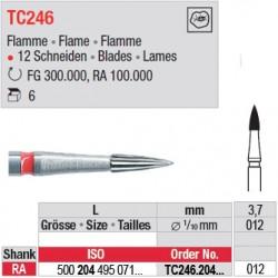 Fraises à finir en C.T. - TC246.204.012