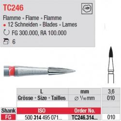 Fraises à finir en C.T. - TC246.314.010