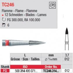 Fraises à finir en C.T. - TC246.314.012