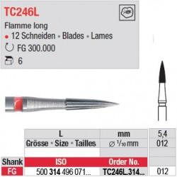 Fraises à finir en C.T. - TC246L.314.012