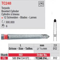 Fraises à finir en C.T. - TC248.314.012