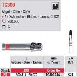 Fraises à finir en C.T. - TC300.314.021