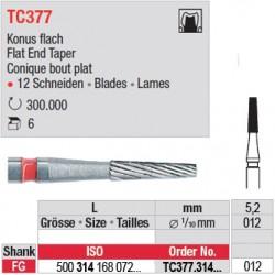 Fraises à finir en C.T. - TC377.314.012