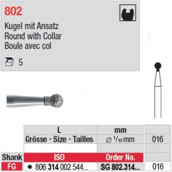 SG 802.314.016-Boule avec col