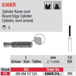836KR.314.008-Cylindre, bord arrondi