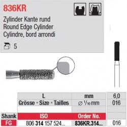 836KR.314.016-Cylindre, bord arrondi