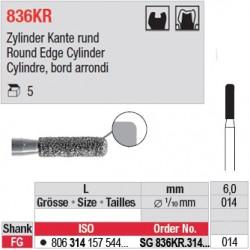 SG 836KR.314.014-Cylindre, bord arrondi