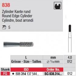 SG 838.314.012 - Cylindre, bout arrondi