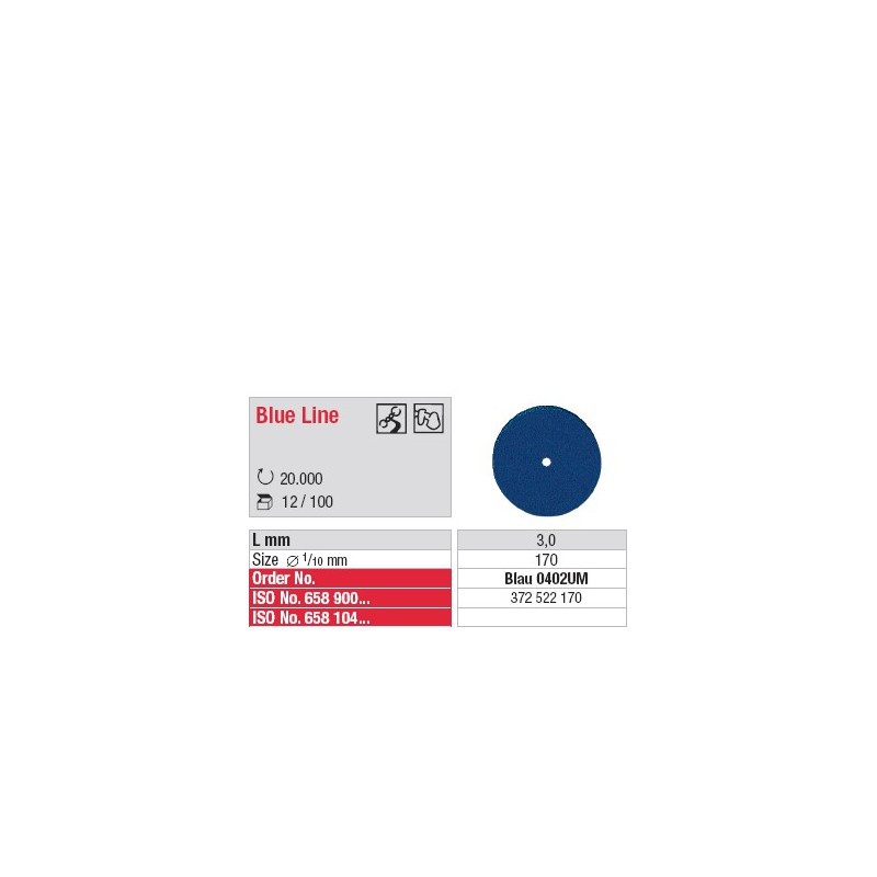 Blue Line - Blau 0402UM