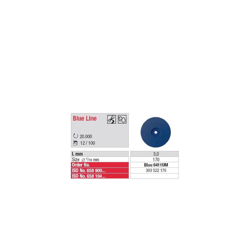 Blue Line - Blau 0411UM